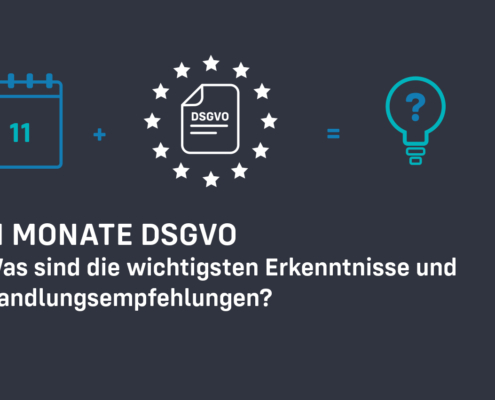 Data protection DSGVO